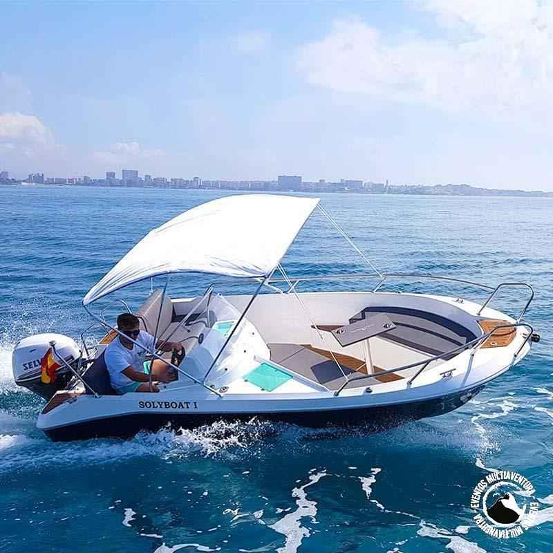 Alquiler barco santa pola voraz