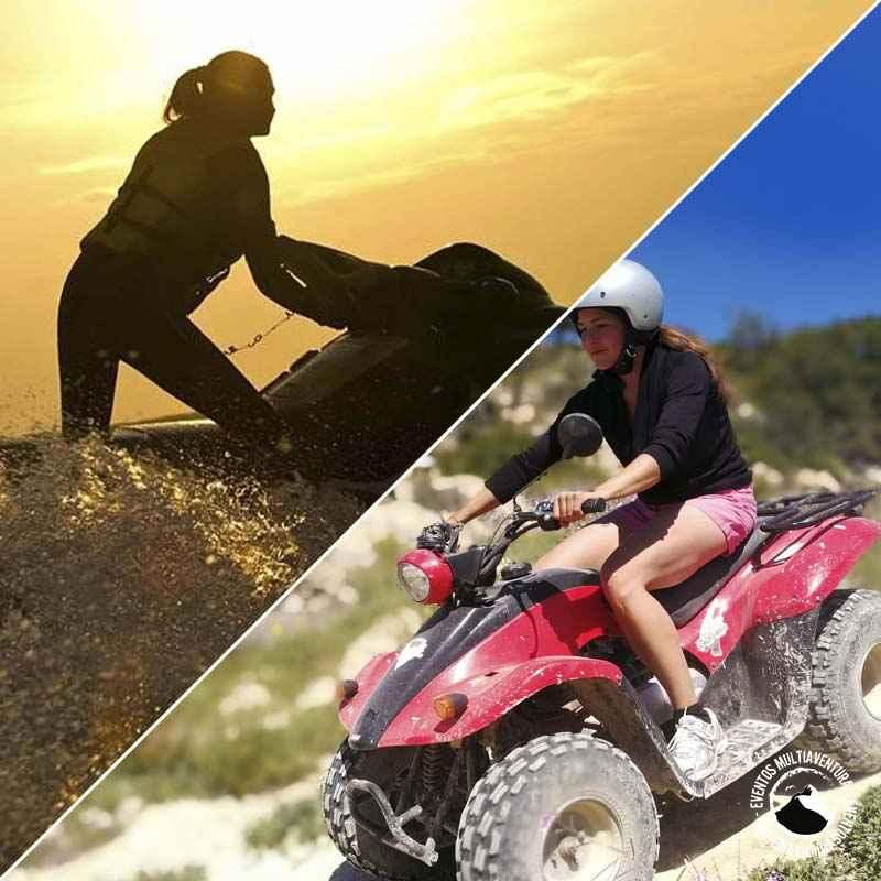 Pack moto de agua y quad
