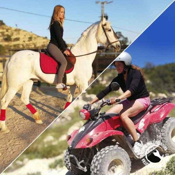Quad y caballo
