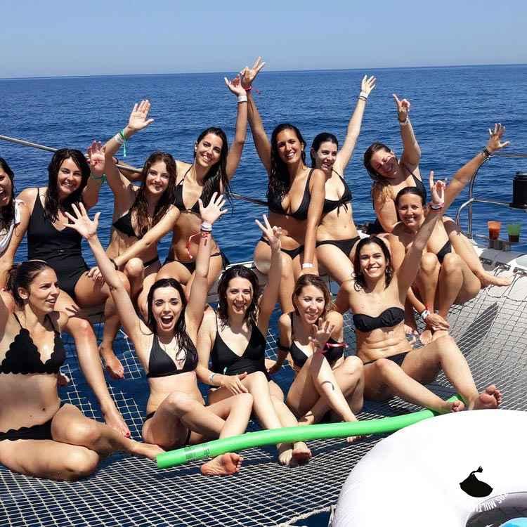 Evento prvado en catamarán a vela